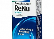 ReNu™ MultiPlus Lubricating&Rewetting Drops (8 мл.)