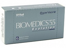 контактные линзы Biomedics 55 Evolution (6 линз) SALE