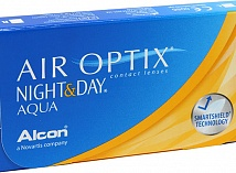 контактные линзы AIR OPTIX NIGHT & DAY (3 линзы)