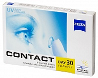 контактные линзы Zeiss Contact Day 30 Spheric (6 линз)