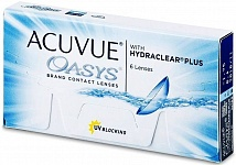 контактные линзы ACUVUE OASYS With Hydroclear Plus (6 линз)