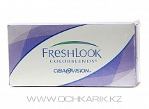 контактные линзы FreshLook ColorBlends Brown (2 линзы) SALE