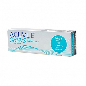 контактные линзы ACUVUE OASYS 1-DAY with HydraLuxe (30 линз)