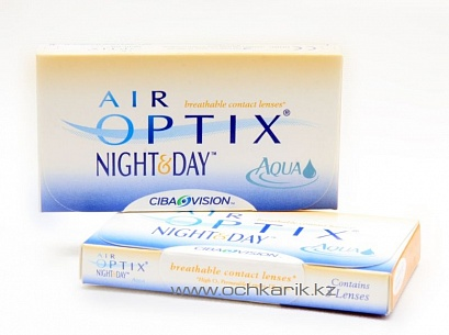 контактные линзы AIR OPTIX NIGHT & DAY (3 линзы) SALE